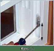 dropping window